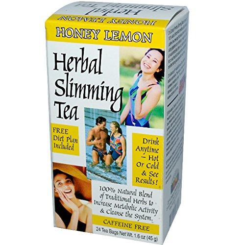 21st Century Herbal Slimming Tea, Honey Lemon 24 tea bags
