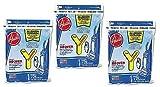 Hoover Type Y Allergen Bag (9-Pack), 4010100Y