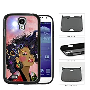 Retro Love Afro beauty Hard Plastic Snap On Cell Phone Case Samsung Galaxy S4 SIV I9500