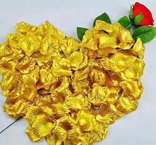 Wedding Table Confetti Decorations by PolysGems 200 Top Quality Royal Blue Silk Rose Petals