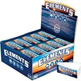 Elements Wide Non-Perforated Roll-Up Tips - Full Box of 50