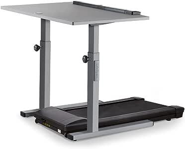 """LifeSpan TR800-DT5 Treadmill Desk   48"""" Manual Height Adjustable Desktop with Under-Desk Treadmill"""