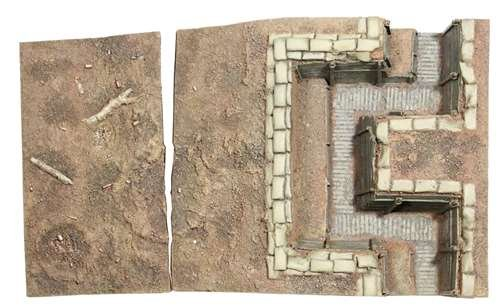 W. Britain 51015 WWI British Trench Section No.2 (Trench Section)