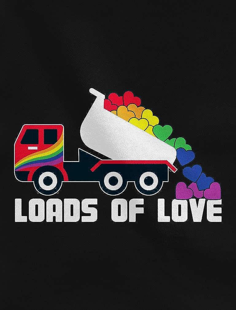 Tstars Loads of Love LGBT Tractor Truck Pride Toddler//Kids Long Sleeve T-Shirt