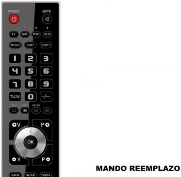 Mando Televisión para TV Oki V32N-FHTUV - Reemplazo: Amazon.es: Electrónica
