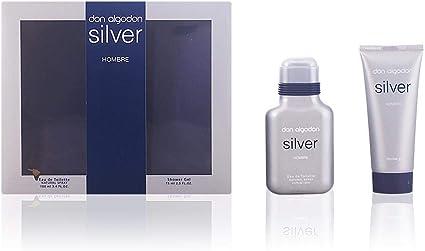 Don Algodon Silver Hombre Eau De Toilette 100 ml + Gel 75 ml ...