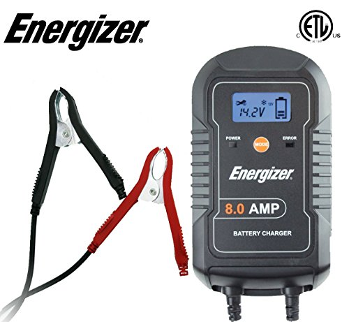 Energizer-ENC8A-8-Amp-Battery-Charger-with-LCD-Battery-Maintainer-612V-9-Step-Smart-Charging-Technology-Will-Improve-Your-Batterys-Life-Cycle-for-Car-RV-or-Boat