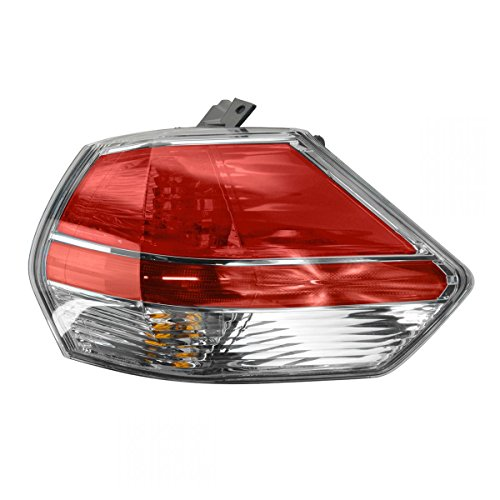 Tail Light Lamp with Lens & Housing Passenger Right RH for 14 Nissan Rogue ()