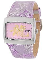 EOS New York Women's 43LPUR Orient Silk Strap Watch