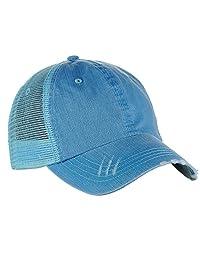 Low Profile Special Cotton Mesh Cap-Black W40S62B