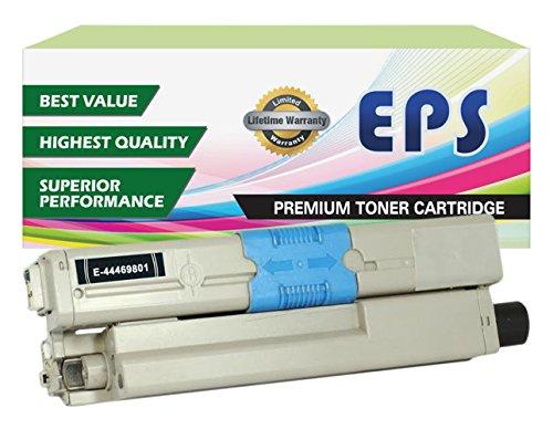 EPS Replacement Toner For Oki Okidata C310dn C330dn C510dn C530dn MC362w MC562w (Black)