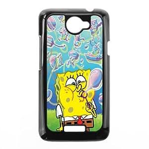 Sponge Bob HTC One X Cell Phone Case Black T5E8TN