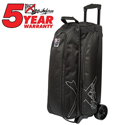 KR Strikeforce Hybrid x Triple Roller - Black (3 Bowling Bag Ball)