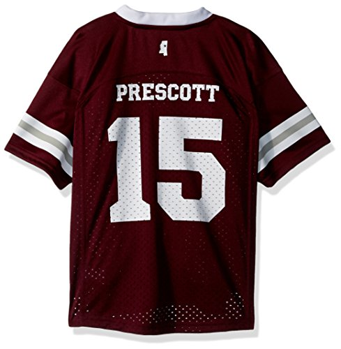 OuterStuff NCAA Mississippi State Bulldogs Children Boys Player Replica Fashion Football Jersey, Medium(5-6), Maroon State Bulldogs Football Jersey