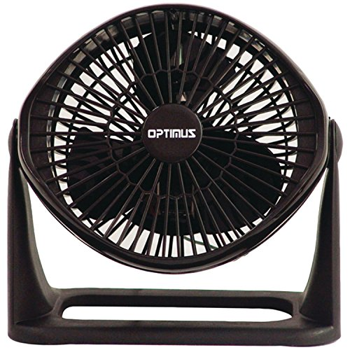 Optimus F-7071 8-Inch Turbo High-Performance 3-Speed Air Circulator by Optimus