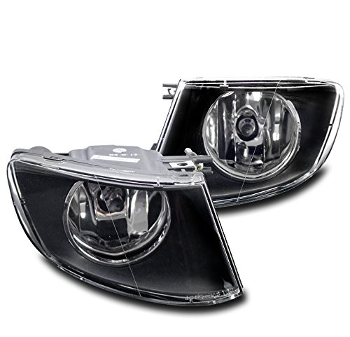 ZMAUTOPARTS 2007-2011 BMW 3 Series E92 E93 Bumper Driving Fog Lights Black ()