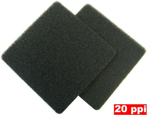 Coarse Foam (4 Pack - 20ppi Foam Filter Pads for Rena Filstar xP by Zanyzap)