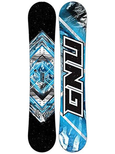 GNU Gnuru Asym Snowboard Mens Sz (162cm Snowboard)