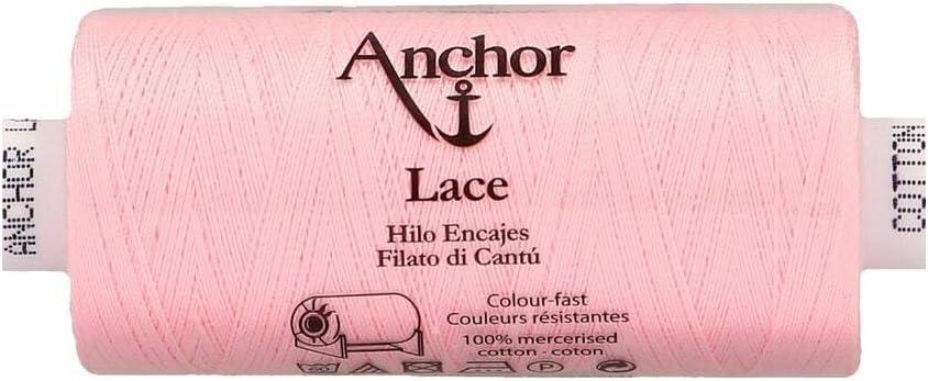 100 /% algod/ón Anchor Lace 50 3cm x 3cm x 7cm 132 500 m Hilo para hacer encaje de bolillos