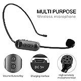 Wireless Microphone Headset, Mbuynow UHF Wireless