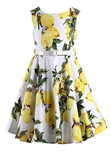 c0d36e73e2c Happy Rose Girl s Dress Vintage Party Floral 6
