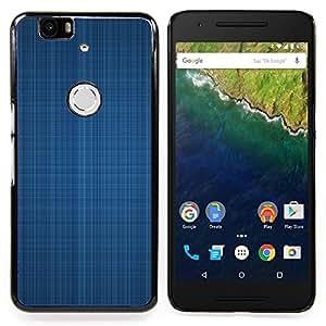 Jordan Colourful Shop - Simple Pattern 4 For Huawei Nexus 6P - < Personalizado negro cubierta de la caja de pl??stico > -