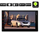 EinCar Universal Double 2 Din Android 4.4 System Car GPS Navigation Player WiFi Bluetooth Car Radio Capacitive Touch Screen Headunit Autoradio