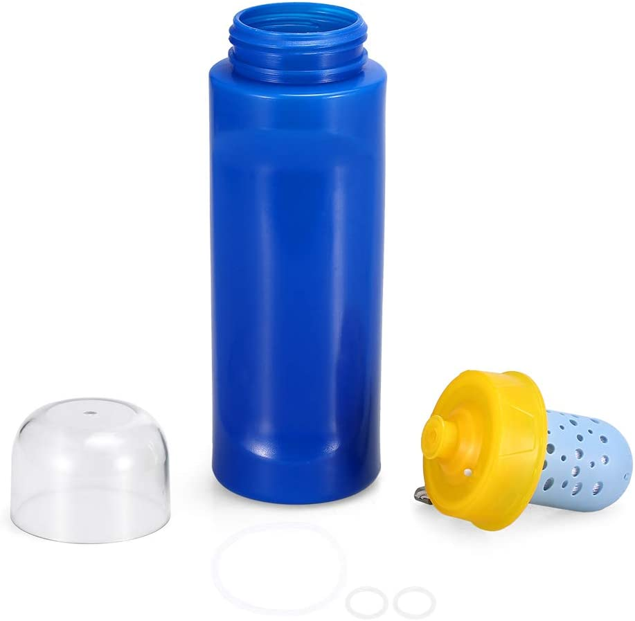 Festnight Botella de Filtro Agua Filtración de Agua purificador de ...