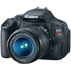 Eos Rebel T3i 18x55mm Is Ii Kit 18mp 3in Variangle Lcd Sd/Sdhc/Sdxc