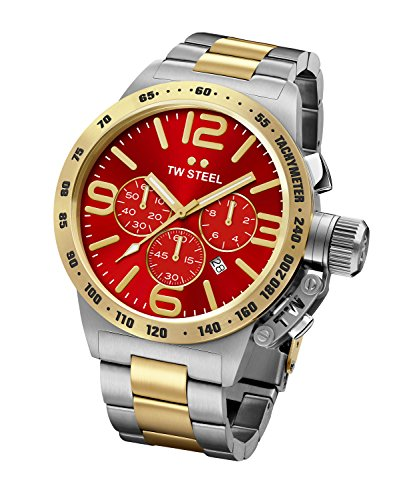 TW Steel Mens Watch Chronograph Canteen CB74