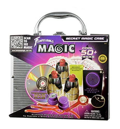 Fantasma Magic Secret Magic Case with Over 50 Tricks and Instructional DVD in Aluminum Carrying Case