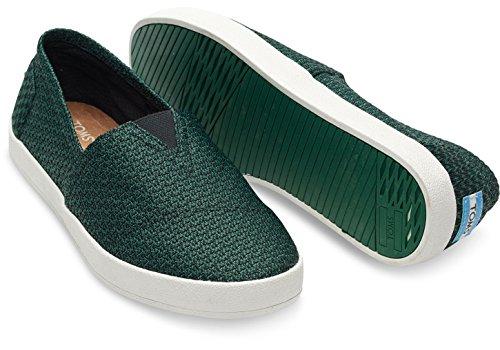 Toms Uomo Avalon Sneaker Eden Maglia Verde Taglia 10
