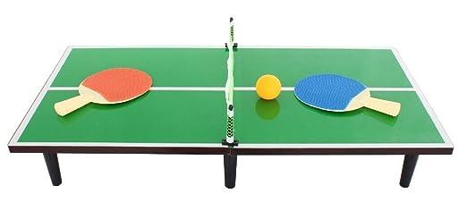 Niños Tablero de la mesa portátil de tenis de mesa PING PONG Juego ...