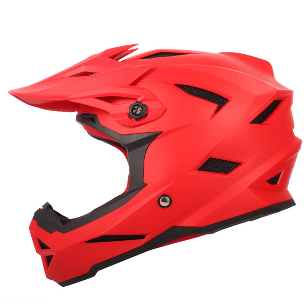 LIDMOTO Motocross-Helme Volles Gesicht Sportfahrrad Offroad für Erwachsene Männer Frauen