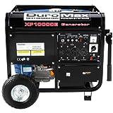 DuroMax XP10000E-CA 10,000 Watt 16 HP OHV 4-Cycle Gas Powered...