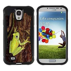 Suave TPU GEL Carcasa Funda Silicona Blando Estuche Caso de protección (para) Samsung Galaxy S4 IV I9500 / CECELL Phone case / / Green Tree Bark Nature Forest /