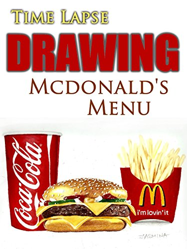 Clip  Time Lapse Drawing Mcdonalds Menu