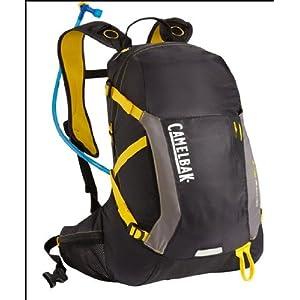 Camelbak Products Octane 22 LR Hydration Backpack, Black/Lemon Chrome, 100-Ounce