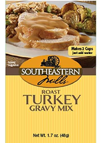 Southeastern Mills Gravy Mix, Turkey, 1.7-Ounce (Pack of 12)