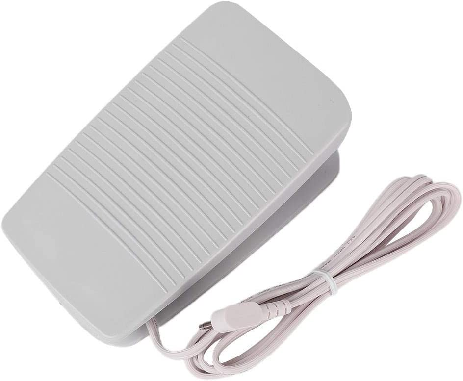 Foot Control Pedal With Cord #11850E For Babylock Singer White Sewing Machines