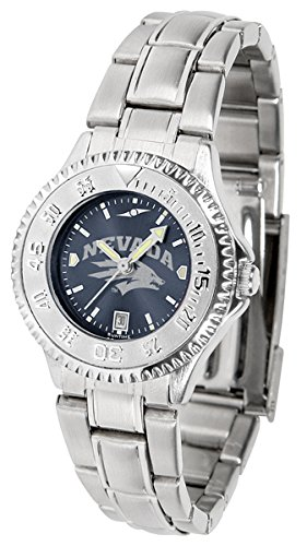 Nevada Wolf Pack Competitor Steel AnoChrome Women's (Wolfpack Ladies Sport Watch)