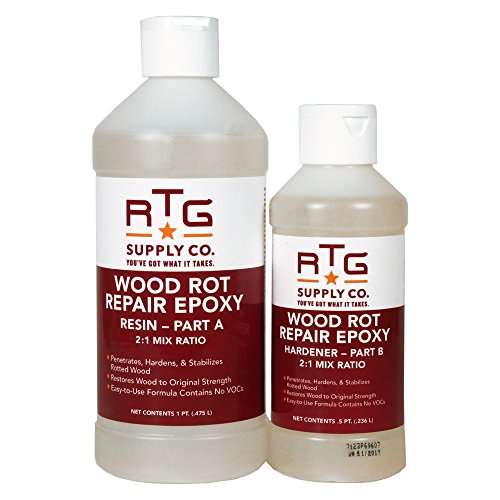 RTG Wood Rot Repair Epoxy (Pint)