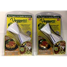 Set of 2 Veggetti Spiral Vegetable Cutter