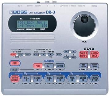 DR3 - Caja de ritmos Boss US Boss Dr. Rhythm DR-3