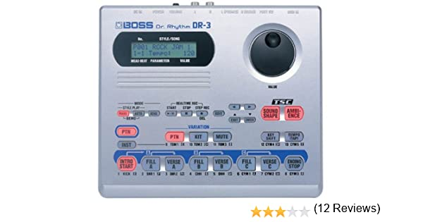 DR3 - Caja de ritmos Boss US Boss Dr. Rhythm DR-3: Amazon.es ...