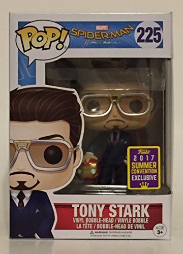 Funko Pop! SDCC 2017 Tony Stark Holding Helmet Edicion Limitada Summer Convention Exclusive