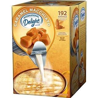 International Delight Non-Dairy Coffee Creamer Caramel Macchiato, Bulk Buy 192ct