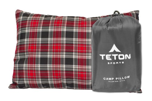 TETON Sports Camp Pillow; Great for Travel
