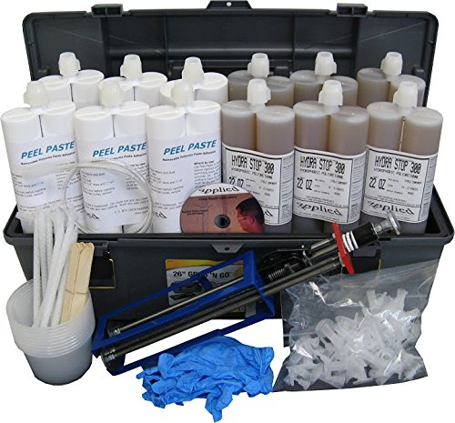 60 Contractor Peel Off Paste Kit Polyrethane Foundation Crack Sealer