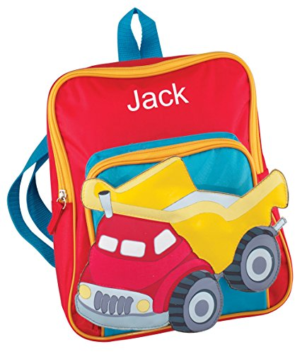 Childrens Personalized Truck Backpack (Personalized Backpacks compare prices)